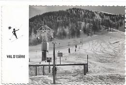 73 - VAL D'ISERE Le Téléski Du Rogoney écrite Timbrée - Val D'Isere