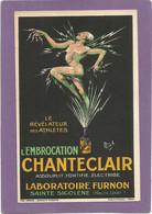 MICH / CPA Pub / L'embrocation CHANTECLAIR / Laboratoire FURNON. - Mich