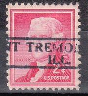 USA Precancel Vorausentwertungen Preos, Locals Illinois, Tremont 811 - Precancels