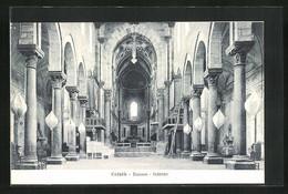 Cartolina Cefalu, Duomo, Interno - Altre Città