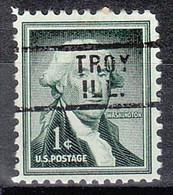 USA Precancel Vorausentwertungen Preos, Locals Illinois, Troy 729 - Precancels