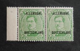 1919 : Cob OC41** X 2    (sans Charnière D17) - [OC1/25] Gen.reg.