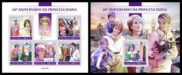 Guinea Bissau 2021 Princess Diana. (225) OFFICIAL ISSUE - Königshäuser, Adel