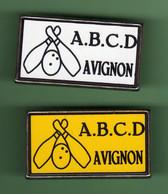 BOWLING AVIGNON *** Lot De 2 Pin's Differents  *** 0039 (30-3) - Bowling