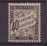 FRANCE : T N° 19 * . TB . SIGNE SCHELLER . 1882 .  ( CATALOGUE YVERT ) . - 1859-1955 Nuevos