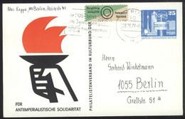 Ganzsache DDR PP 17 Gelaufen 28.5.77 - Privatpostkarten - Gebraucht