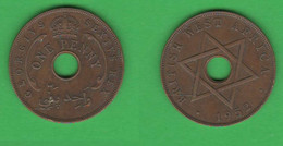 British West Africa ONE PENNY 1952 King George VI - Other - Africa