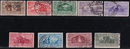 Regno D'Italia Virgilio 1930 Serie Completa Sass. 282/290 Usata Cv 2000 - Usati
