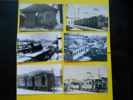 Photo ,TRAMWAY Et Gares De La HAUTE-VIENNE Collection Bourneuf , Limoges Charente ,dépôt De L'Aurence... - Trains