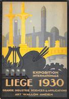 Liège Expo 1930 - Grande Industrie Sciences & Applications - Art Wallon Ancien - Liège