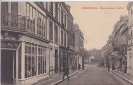 61 L AIGLE Rue Gambetta , Façade Chapellerie Parisienne - L'Aigle