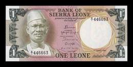 Sierra Leona Leone 1 Leone 1984 Pick 5Er Replacement Z/1 SC UNC - Sierra Leone