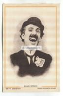 Billie Ritchie - Silent Movie Comedy Actor - Old Silk Postcard - Attori