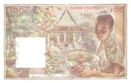 LAOS  P. 6a 100 K 1957 UNC - Laos