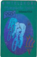 DENMARK - Atlanta 1996 Olympics, Cycling(3D Card), Tirage 11000, 08/93, Mint - Sport