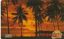 MALAYSIA(GPT) - Palms, Sunset, CN : 6MSAB/C, Used - Landscapes