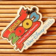 Joli Pin's Disney, Kodak 2003, émail Grand Feu, TBQ, Pins Pin. - Disney