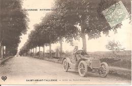 SAINT-AMANT-TALLENDE (63) Voiture Ancienne Allée De Saint-Saturnin (L'AUVERGNE PITTORESQUE) - Otros Municipios