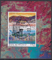 SAN MARINO  Block 22, Gestempelt, Weltstädte (XV) – Hongkong, 1997 - Blocks & Kleinbögen
