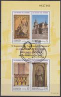 SPANIEN  Block 70, Gestempelt, 1400 Jahre Diözese Von El Burgo De Osma, 1997 - Blocks & Kleinbögen