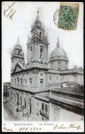 Brasil Rio De Janeiro Egreja Da Candelaria Précurseur Cachet 07 Abril 1904 Capital Federal TB - Rio De Janeiro