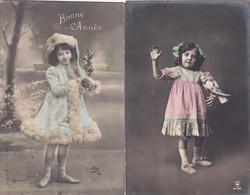 2 KAARTEN MET KINDEREN  PHOTO CARDS - Autres