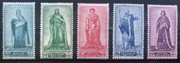 België, 1947, Nr 751-55, Postfris **, OBP 62.5€ - Ungebraucht