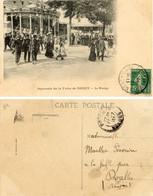 SOUVENIR DE LA FOIRE DE NANCY LE MANEGE 1911 - Nancy