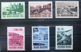 België, 1953, Nr 918-23, Postfris **, OBP 95€ - Unused Stamps