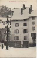 05 BRIANCON  Place D'Armes L'Hiver - Briancon