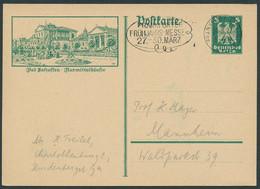 DR.REICH 1927, GS-P164, BILD 20, BAD SALZUFLEN STPL-MAS FRANKFURT-FRÜHLINGSMESSE - Cartas