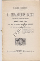 BOIS-SEIGNEUR-ISAAC/Ophain Gesch. H. Mirakuleus Bloed J. Bernard 1893 (N575) - Antique