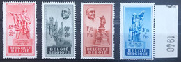 België, 1948, Nr 781-84, Postfris **, OBP 16€ - Ungebraucht