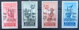 België, 1949, Nr 803-06, Postfris **, OBP 6€ - Ungebraucht