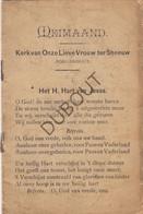 BORGERHOUT Meimaand OLVrouw Ter Sneeuw (N645) - Antique