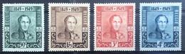 België, 1949, Nr 807-10, Postfris **, OBP 19€ - Unused Stamps