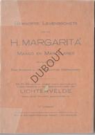 LICHTERVELDE Levensschets H. Margarita 3de Editie- Druk Lichtervelde 1924? (N672) - Antique
