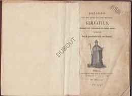 WEMMEL Heyligen Servatius, Patroon Van Wemmel - J. Vandereydt, Brussel (N724) - Antique