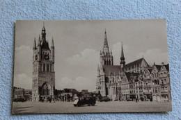 B847, Ypres, Grand Place, Le Beffroi Et La Cathédrale Saint Martin, Belgique - Other