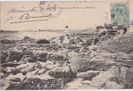 Cf - Belle Cpa LORIENT - Rochers De La Pointe De La Perrière - Lorient