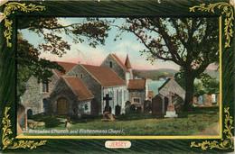ILES DE LA MANCHE  JERSEY St Brelades Chapel   Edit J.Welch & Sons - Jersey