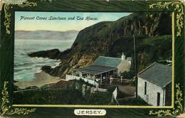 ILES DE LA MANCHE  JERSEY Plemont Caves Luncheon   Edit J.Welch & Sons - Jersey