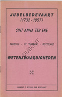 DEERLIJK/St-LODEWIJK/BOTTELARE/Merelbeke Jubelbedevaart 1957 (N759) - Antique