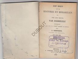 DADIZELE O.L.Vrouw Historie En Mirakelen - L.Gervoson - 1875 (N772) - Antique