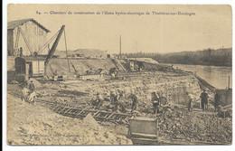 24-TUILIERES- Barrage - Chantiers De Construction De L'Usine Hydro-électrique...  Animé - Other Municipalities