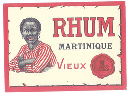 Etiquette Rhum Martinique Vieux - Rhum