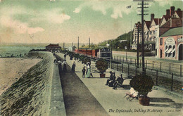 ILES DE LA MANCHE  JERSEY Esplanade - Jersey