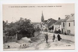 - CPA SAINT-NICOLAS-DE-REDON (44) - Vue Prise De La Garenne Au Nord-Est (avec Personnages) - Edition Chapeau N° 3 - - Autres Communes