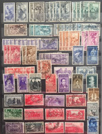ITALY :  SELECTION OF STAMPS On 1  Page  LOT 3 - Verzamelingen