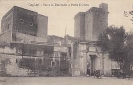 Sardegna - Cagliari - Torre S. Pancrazio E Porta Cristina - F. Piccolo - Viagg - Molto Bella - Insolita - Cagliari